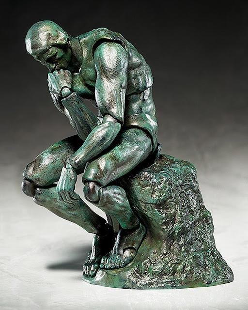 Esculturas clássicas são transformadas em Action Figures por empresa japonesa