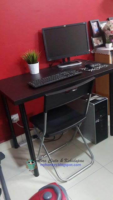 meja komputer ikea