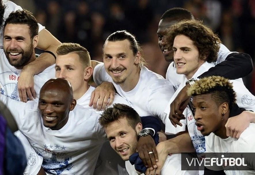 El PSG se proclamó campeón en Francia