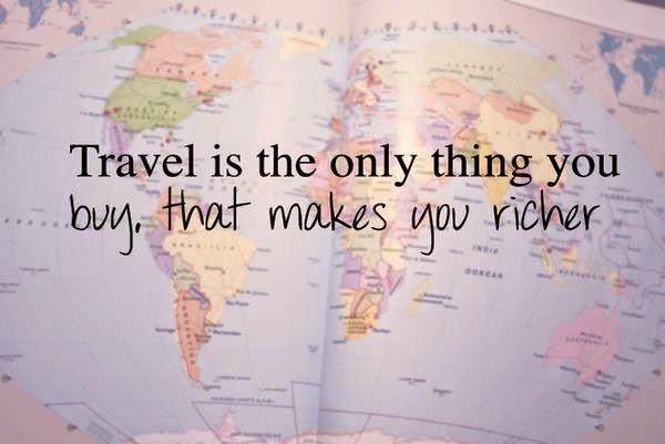 travel, matkustaa, loma, holiday, world, richer, happy,