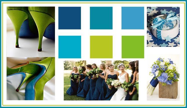 Wedding Favors Themes Etc Wedding Color Palettes