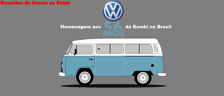 Homenagem Aos 56 Anos Da Vw Kombi No Brasil Dcp Design