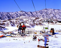 Ski Resort Korea