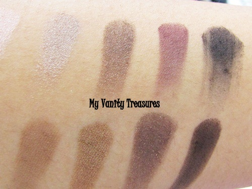 theBalm Nude Tude Eyeshadow Palette Swatches