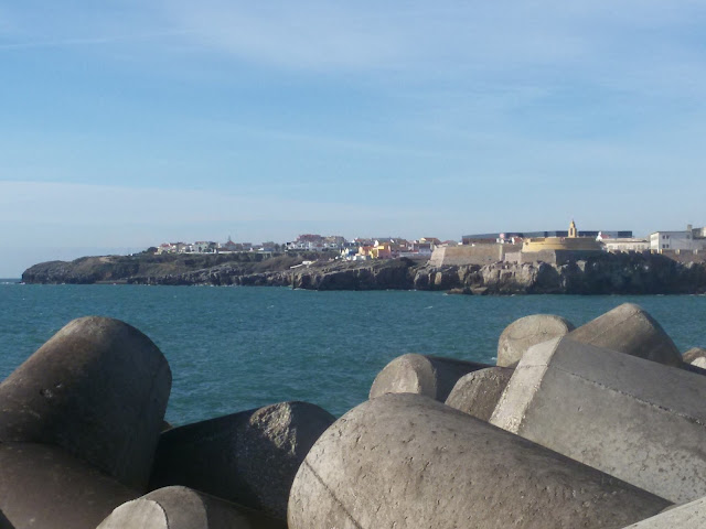 Peniche Port Entrance