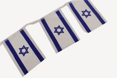 Cadeneta de 8 banderas 20 x 14 ctms.