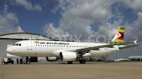 Air Zimbabwe A320 Z-WPM