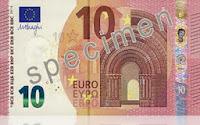 Новая банкнота евро 10