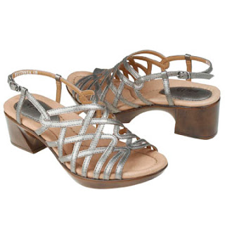 shoes, earth shoes, earth footwear, platinum, metallic shoes, silver shoes, positive heel