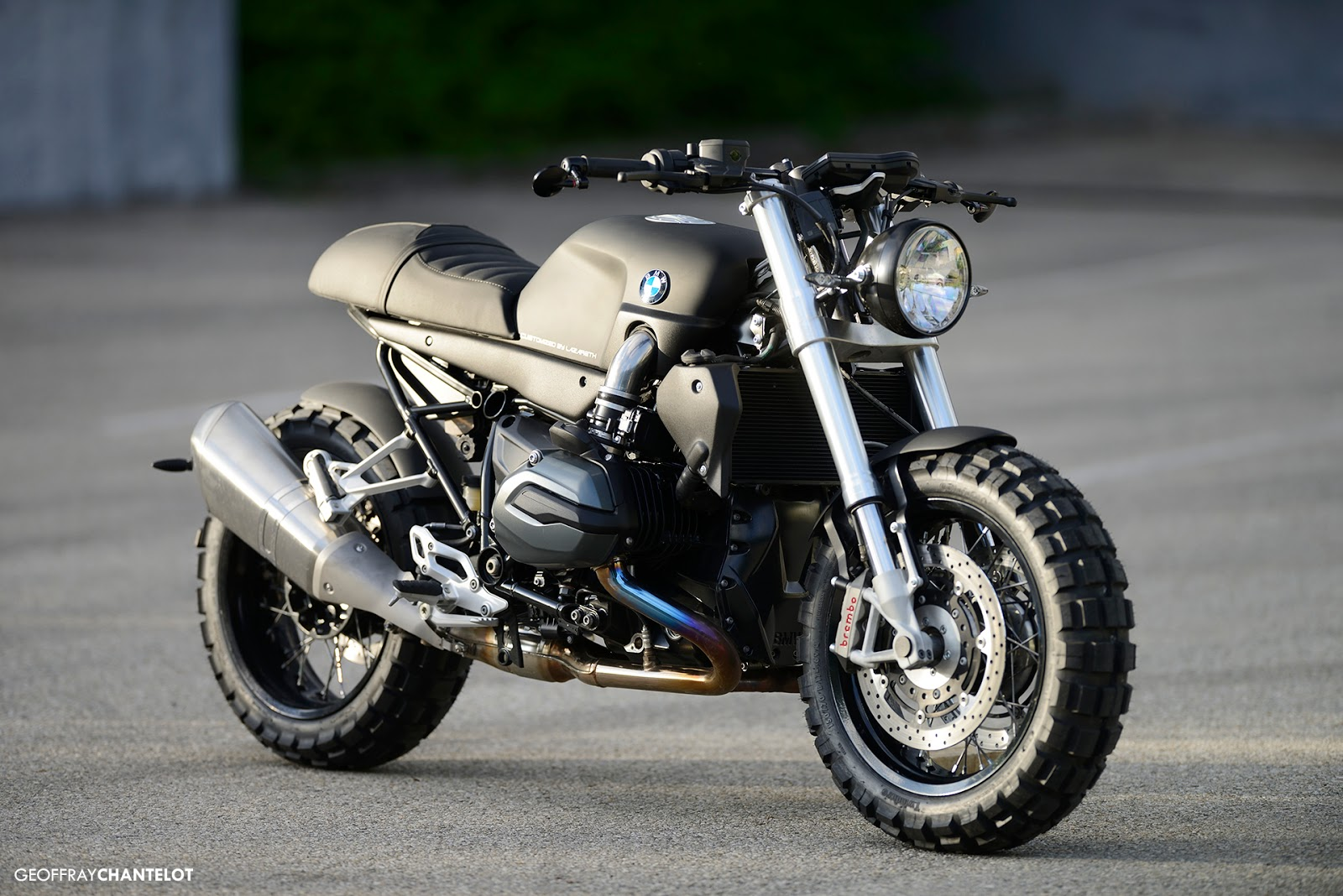 Racing Caf 232 Bmw R 1200r 2015 By Lazareth