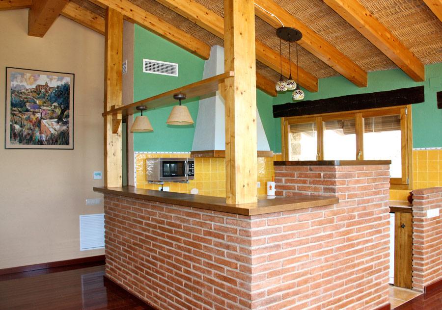Paletas 2011 como hacer una pared de obra vista - Como hacer una cocina de obra ...