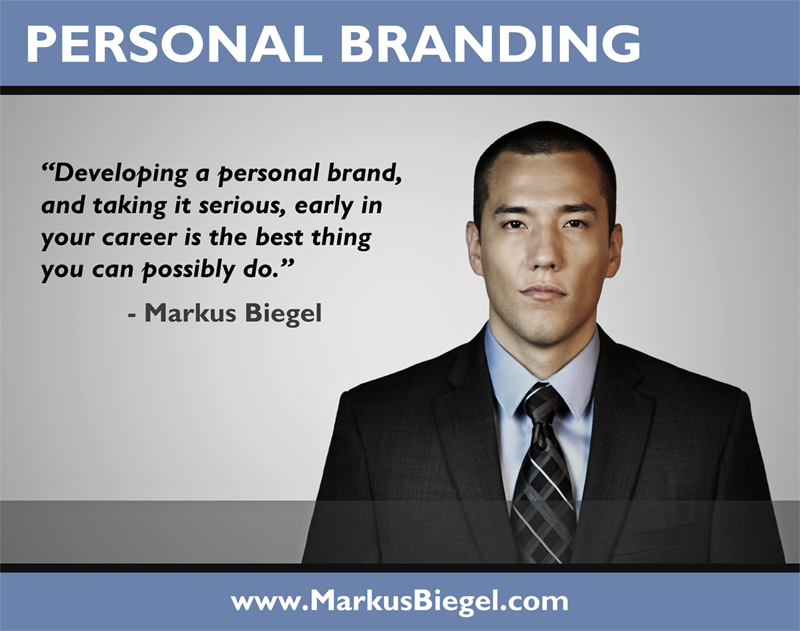 Personal Branding, Markus Biegel, Business Advice