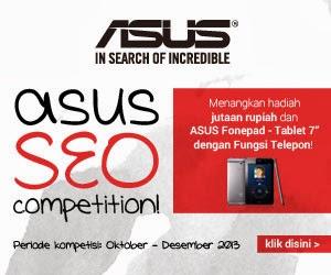 Daftar Pemenang Kontes SEO ASUS