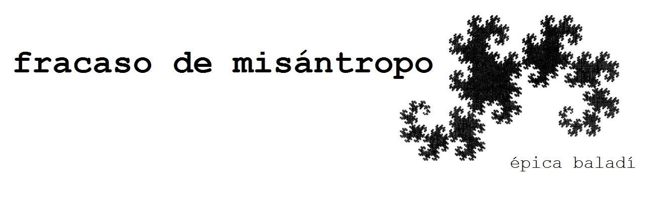 Fracaso de Misántropo