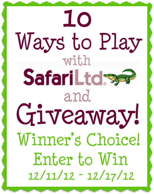 safari ltd toob giveaway