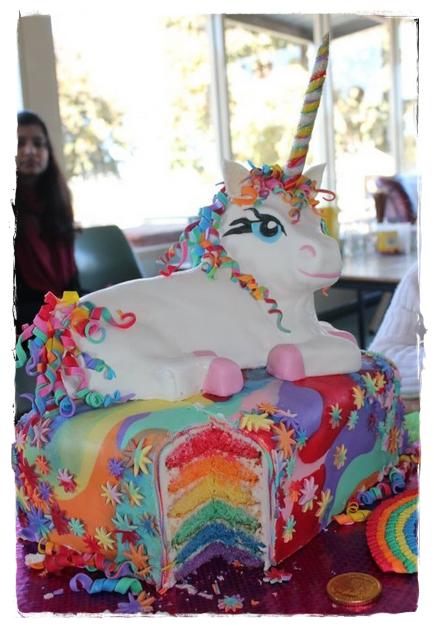 The Quick Unpick The Rainbow Unicorn Cake Semi Tute