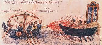 Fuego griego fuego valyrio - Juego de Tronos en los siete reinos