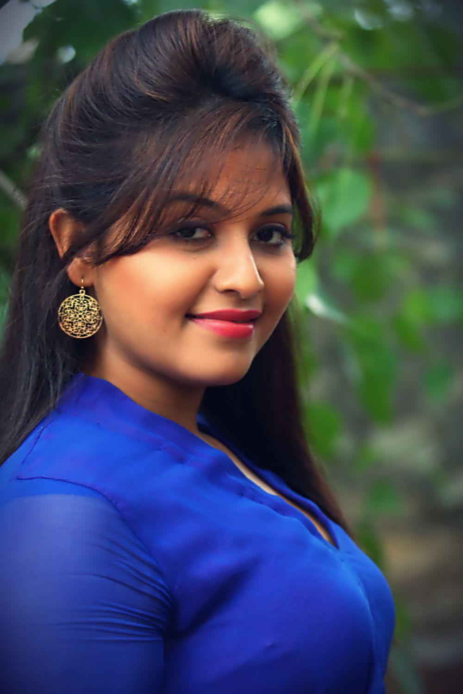 anjali hot beauty in blue anarkali dress - actress pilot | single