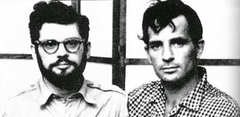 Allen Ginsberg (à droite) et Jack Kerouac