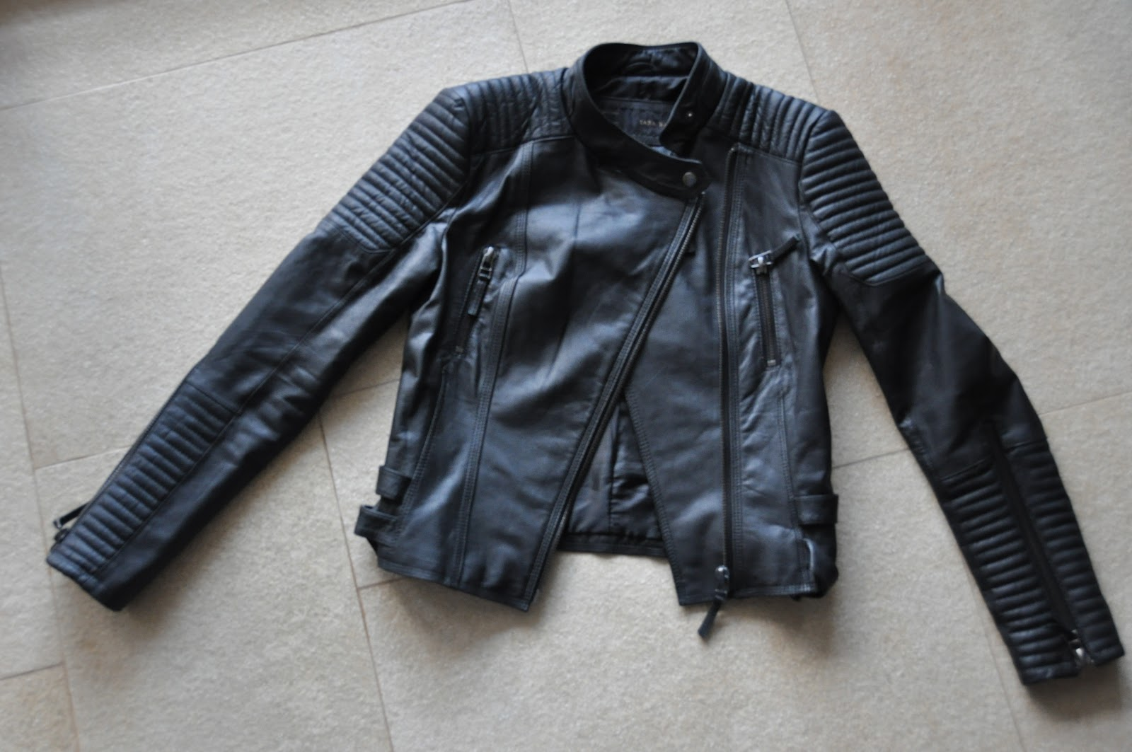 Black Leather Jackets For Women With Hood
