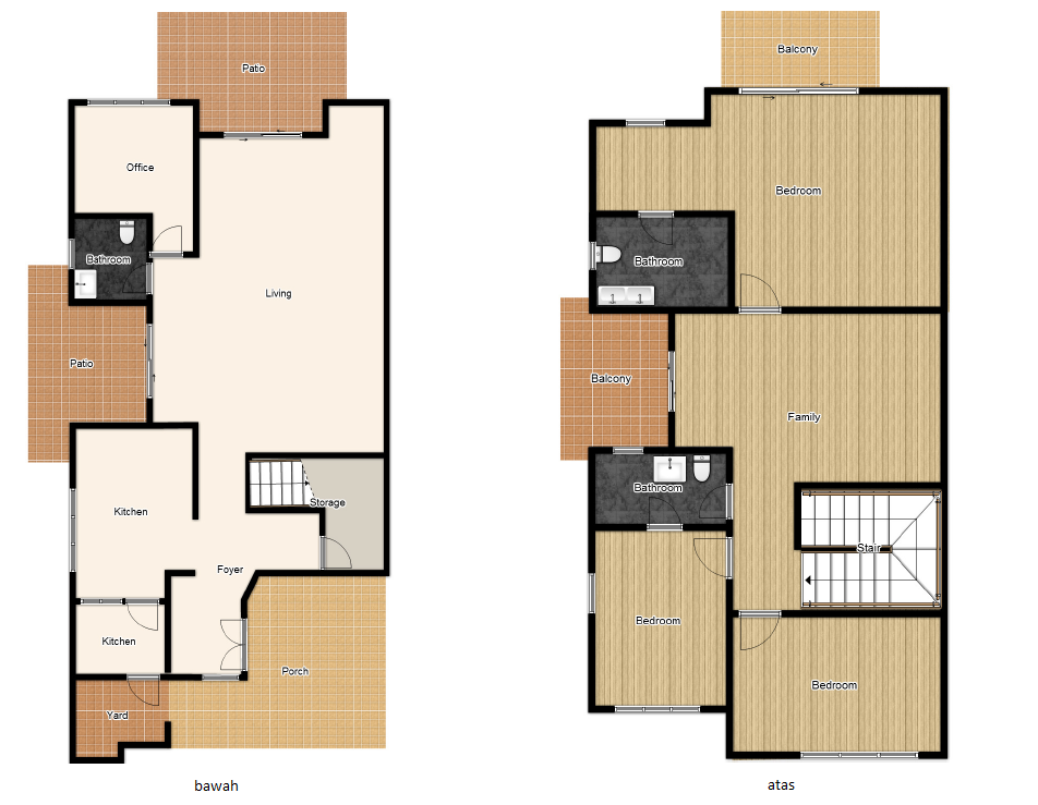 Achieajanie perancang lantai for Plans d arkitek