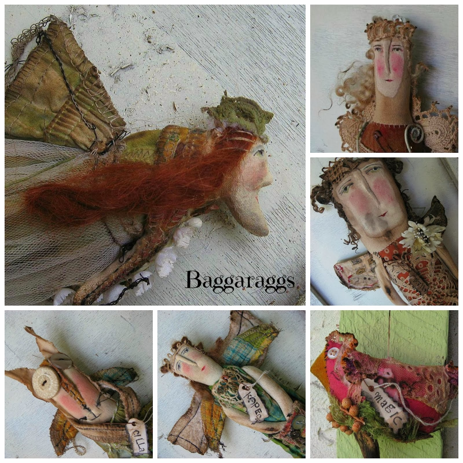 BAGGARAGGS BLOG HAS SUCH WHIMSICAL DOLLS FOR SALE ON ETSY!
