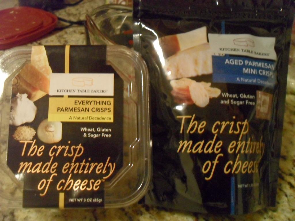 Eat Oxygen Kitchen Table Bakers Parmesan Crisps Product Review