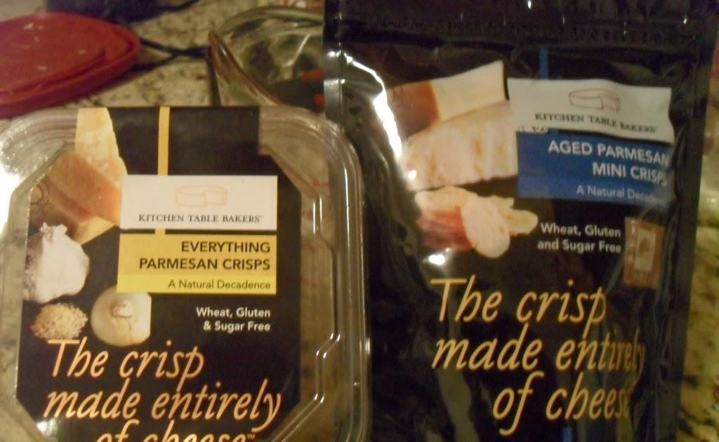 kitchen table bakers parmesan crisps