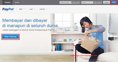 Cara Membuat Akun PayPal