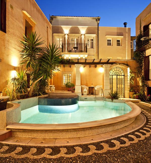 Hogares frescos lujoso hotel 5 estrellas en creta grecia - Hotel de cinco estrellas ...