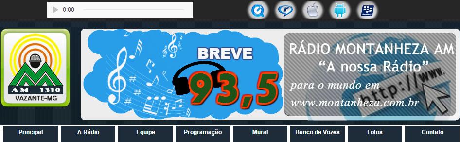 RADIO MONTANHEZA-VAZANTE MG