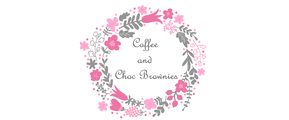 ~ coffee and choc brownies ~