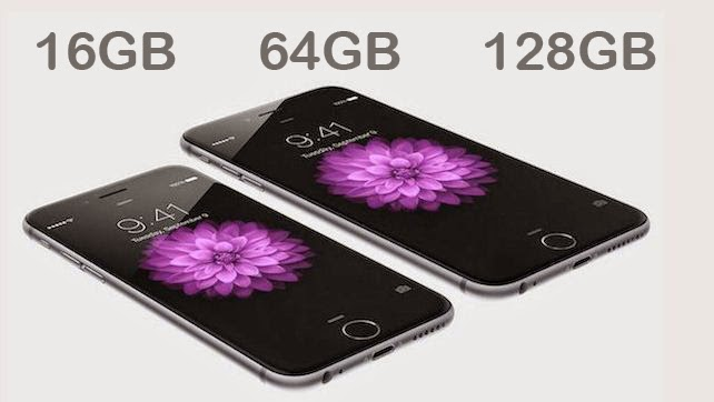 iphone 6 capacity