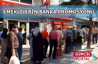 emekli banka promosyonları 2013