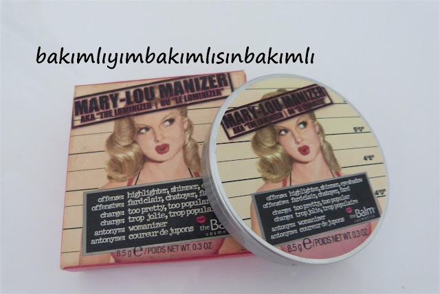 the balm mary lou manizer review yorum fiyat