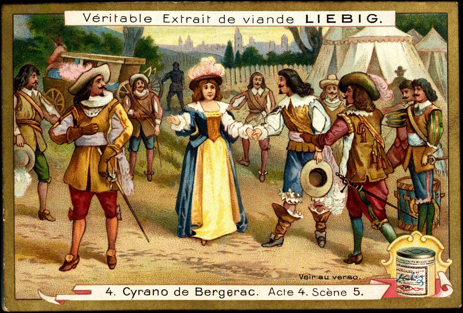 deceit and deception in the play cyrano de bergerac by edmond rostand Cyrano de bergerac study guide contains a biography of edmond rostand,   roxane herself does not lie or openly deceive, but her shallowness allows her to  be easily deceived  rostand's play is thus very moralistic.