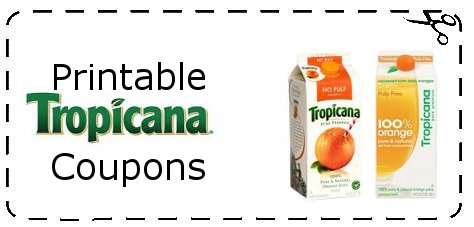 Tropicana Orange Juice Coupons