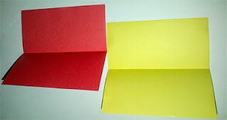 bermain bentuk sederhana dengan kertas warna