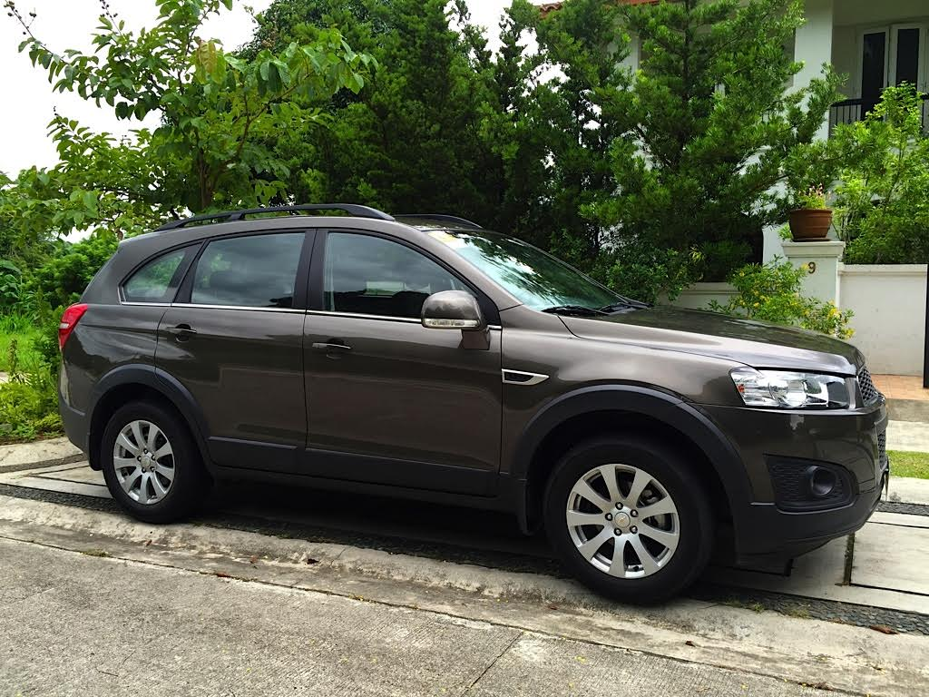 Road testing the chevrolet captiva
