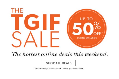 Chapters Indigo TGIF Sale Up To 50% Off