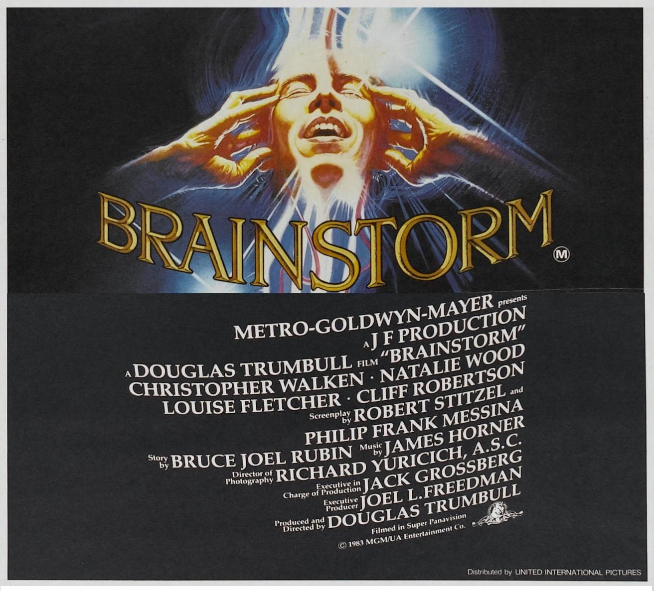 BRAINSTORM (1983)  WEB SITE