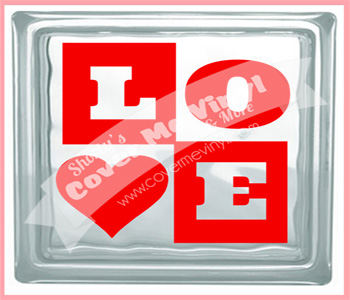 Love Blocks Cube Light