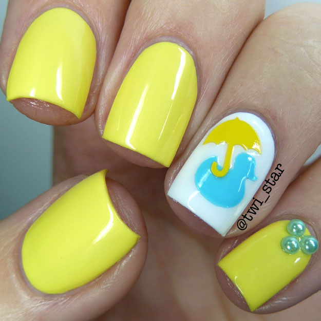 She Nail Polish Banana Cra-Cra polish swatch