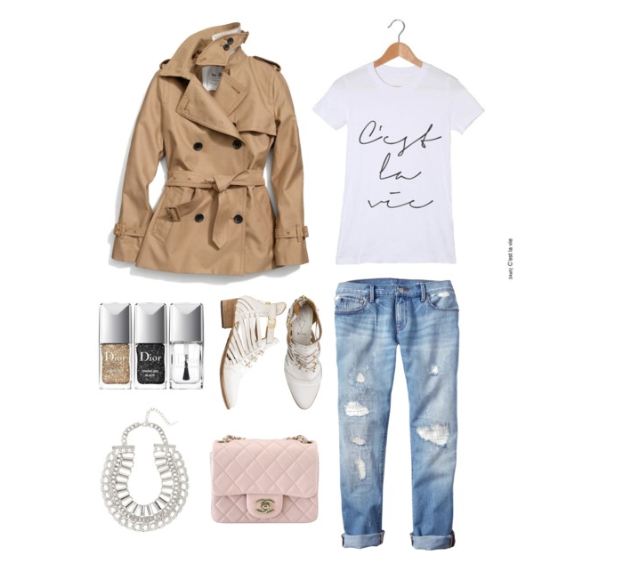 c'est la vie, c'est la vie tee, fashion, ootd, trending, hot, graphic tees