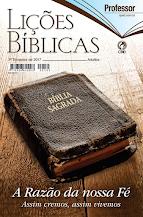 Lições Bíblicas Adulto 3º Trimestre 2017