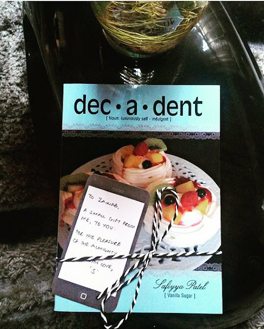 decadent, dessert, recipe, recipe book, sweet, review, recipe book review