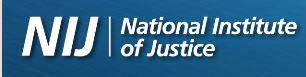National Institute of Justice logo