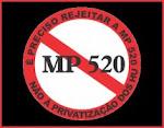 MP 520 dos H.U´s é inconstitucional
