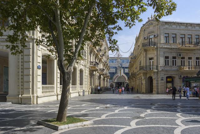 Altstadt in Baku Aserbaidschan, Azerbaijan