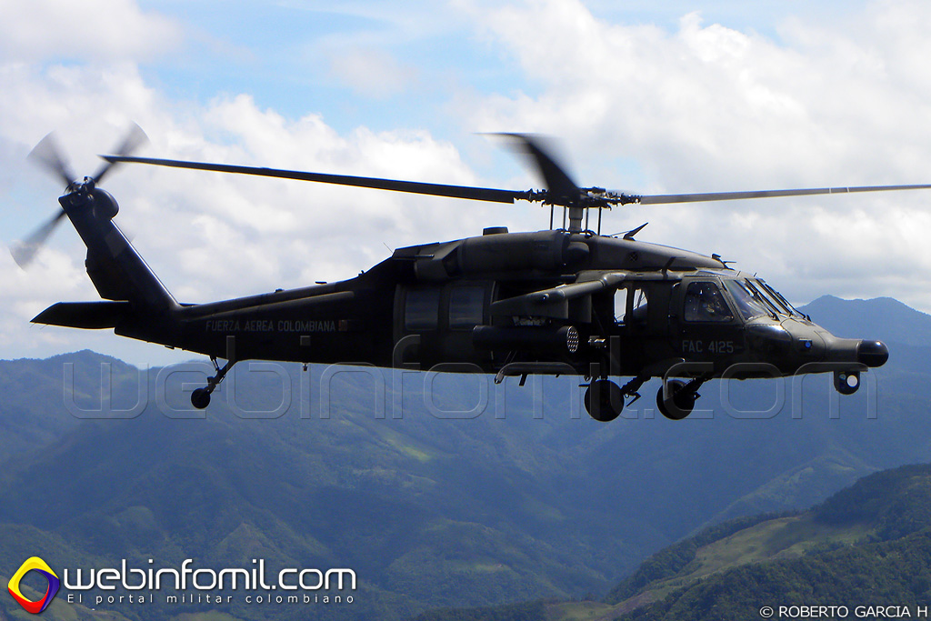 helicoptero arpia fuerza aerea colombiana